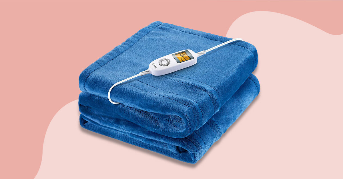 7 Best Electric Blankets Of 2021, Sunbeam Sleep Perfect Quilted Electric Blanket Queen Bed Review